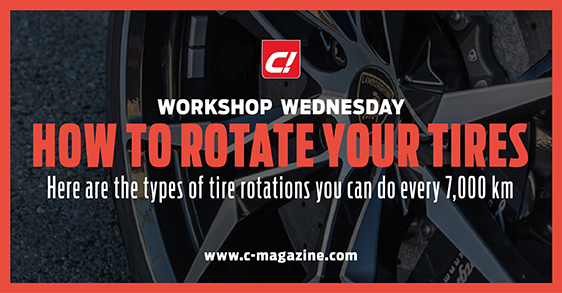rotating your tires