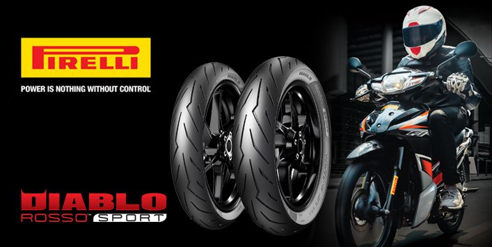 Pirelli Launches New Diablo Rosso Sport Tires For Scooters And Underbones C Magazine