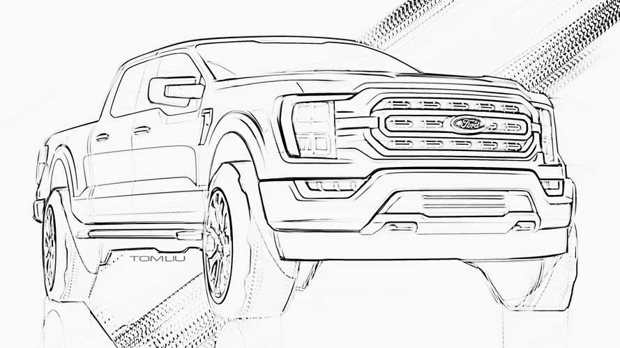 You And Your Kids Can Now Color Your Very Own Ford F 150 And Bronco C Magazine